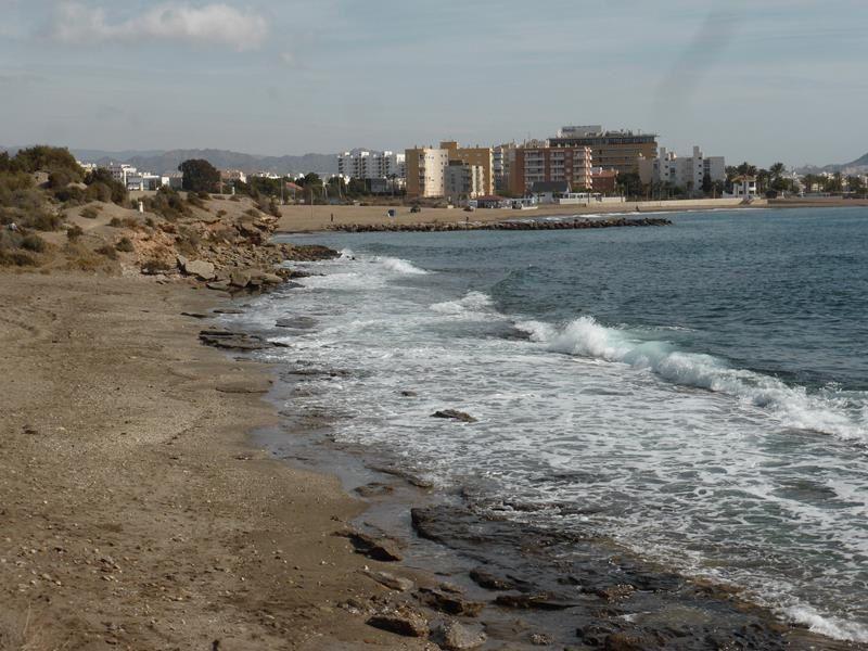 Sur la côte près d'Aguilas..