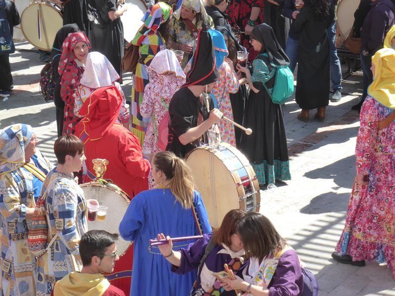 Roulements de tambours...à Mula