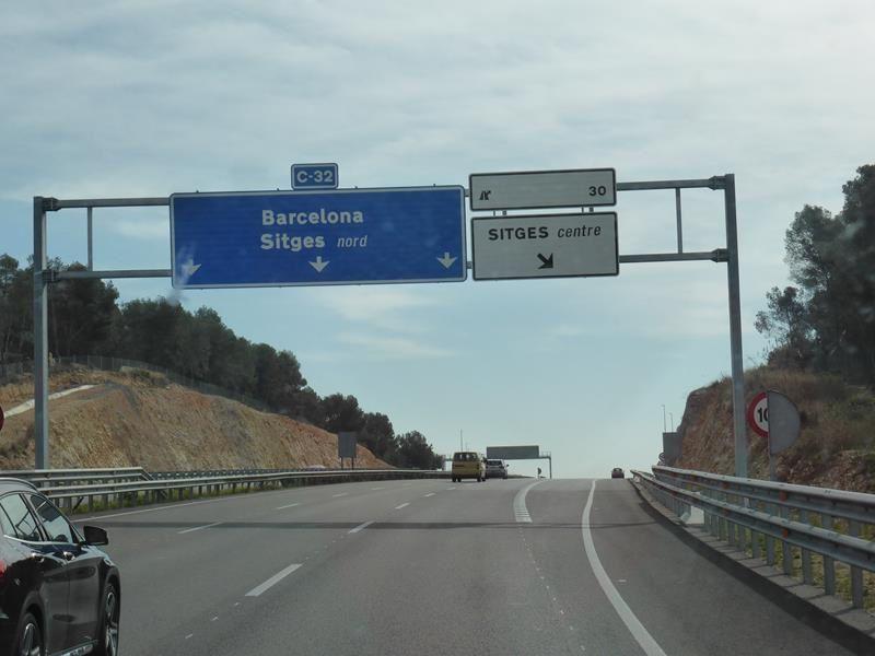 Sur le chemin du retour ....Peralada