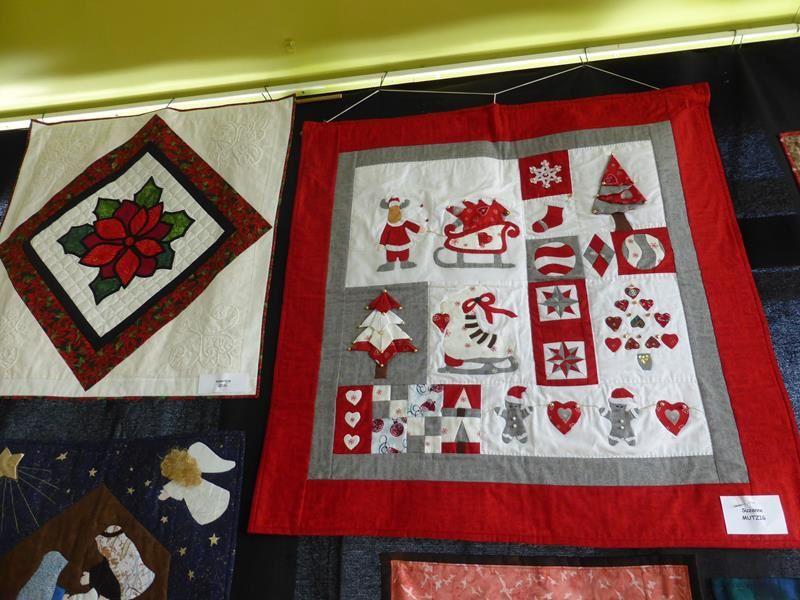 Belle expo de patchwork à Obernai