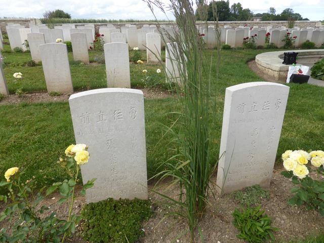 Baie de Somme 5 ...le cimetière chinois de Noyelles-sur-Mer