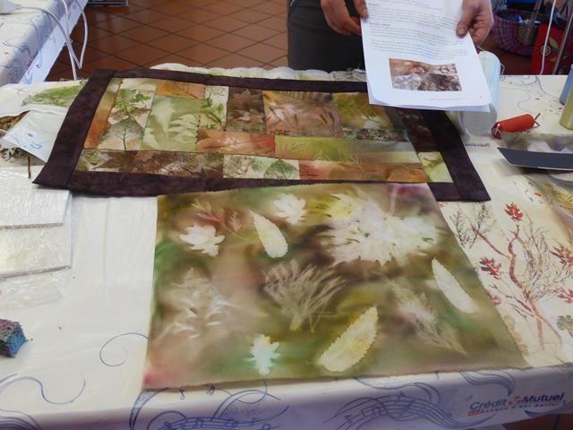 JA du 13 octobre ... art textile
