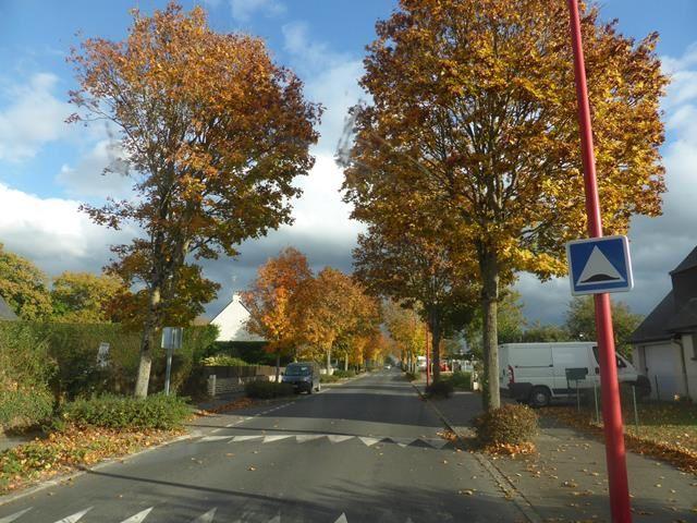 Images d'automne à La Touche....