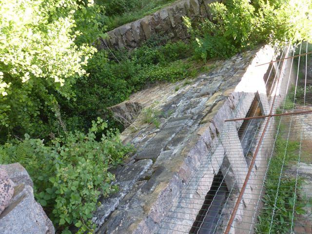 Aubazine...le canal des Moines