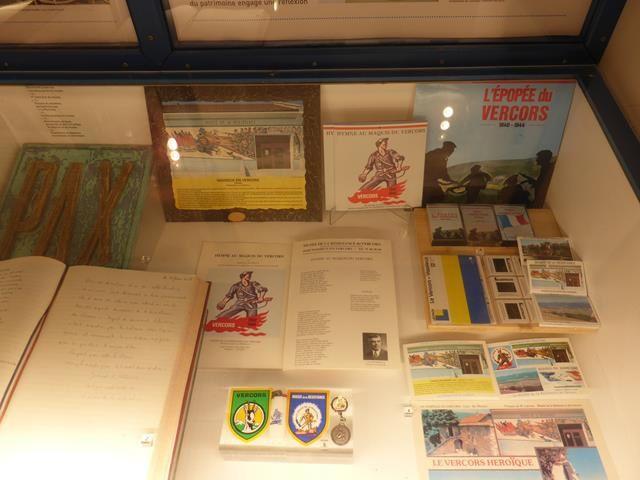 Vassieux en Vercors ...Musée de la Résistance