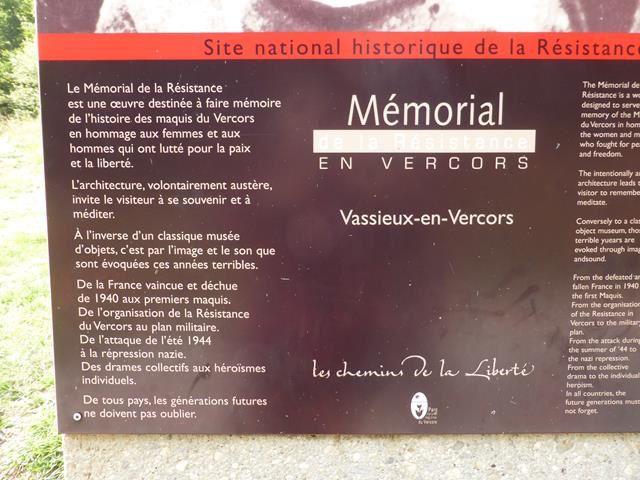 le Mémorial de la Résistance en Vercors