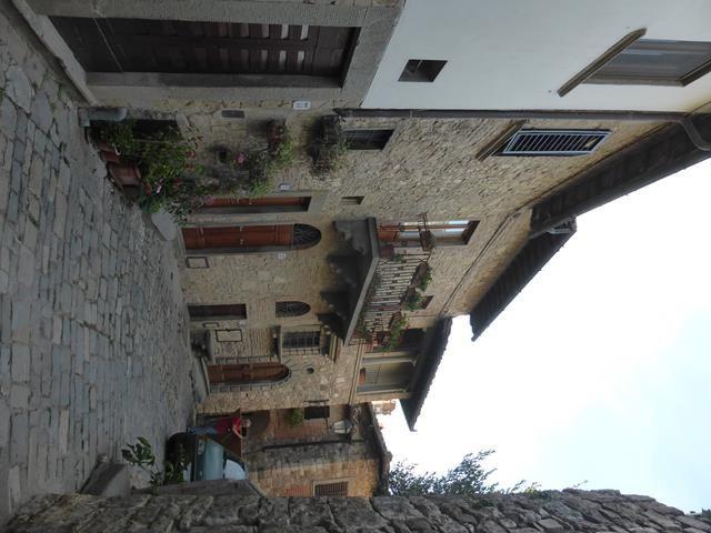 Dans le Chianti : Montefioralle