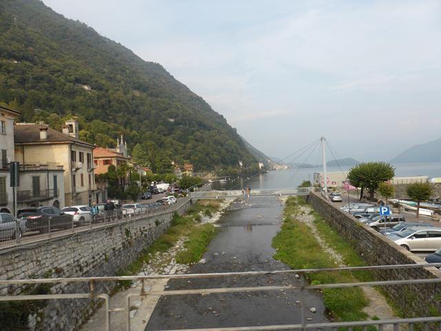 Sur le chemin du retour : le lac de Côme