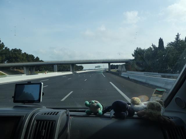 Retour d'Andalousie ...