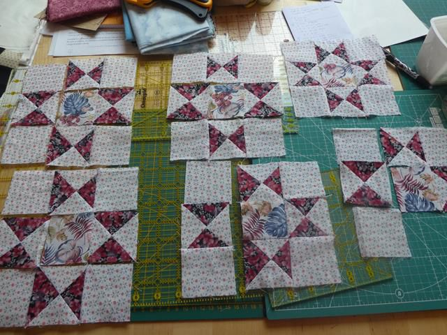 Mystery quilt ...