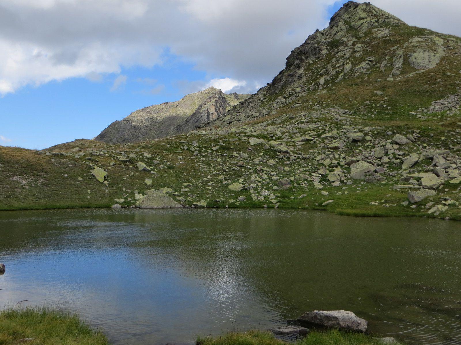 Lac Caspi 2441m