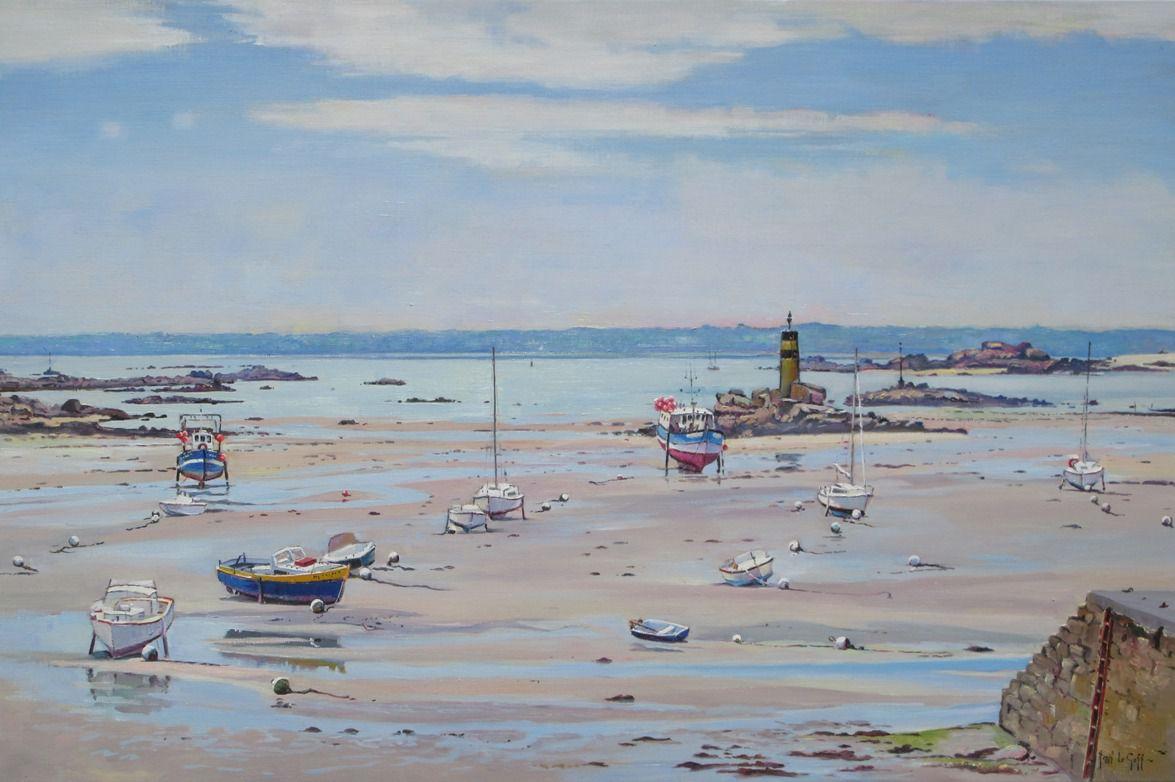 Fantastique 5 - Exposition de peinture Henri Le Goff - Tableaux marines et KS-05