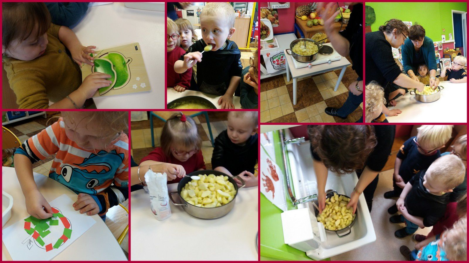 Ateliers de langage en PSM sur le thème des fruits et légumes