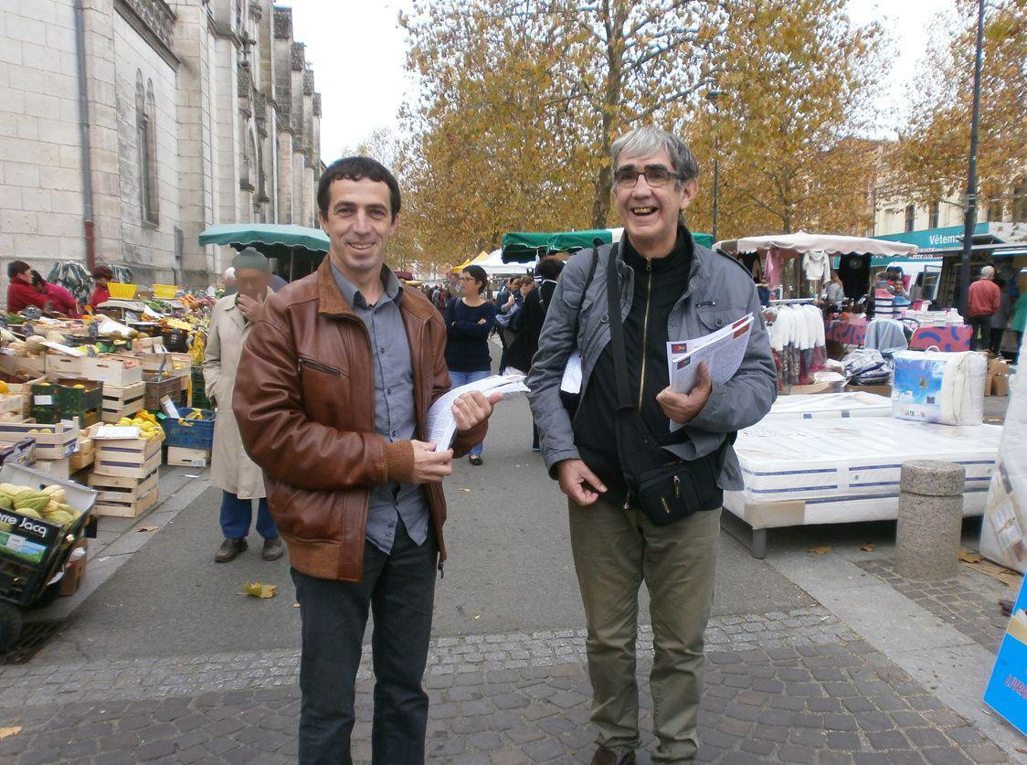 Régionales 2015, le Parti de la Nation Occitane à Valence d'Agen, avec Le Bien Commun.
