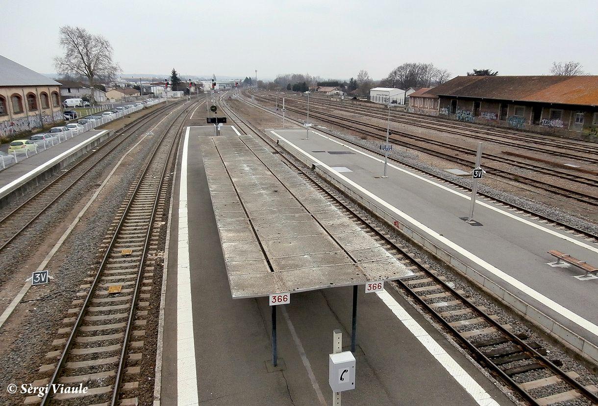 los trens arriban pas totjorn a l'ora !