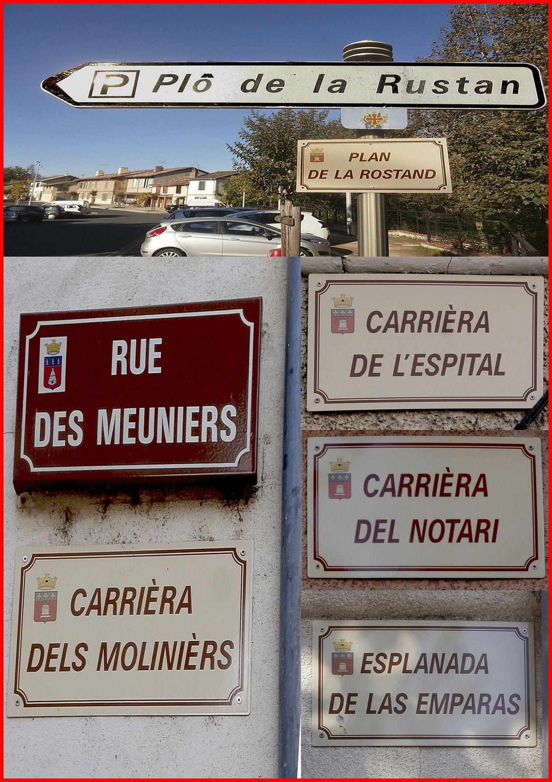 noms de las carrièras en occitan a Sant Sulpici la Punta