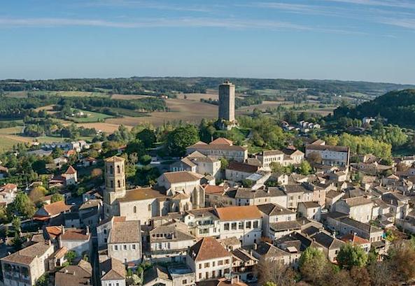 Occitanie : Montcuc/Montcuq en Carcin