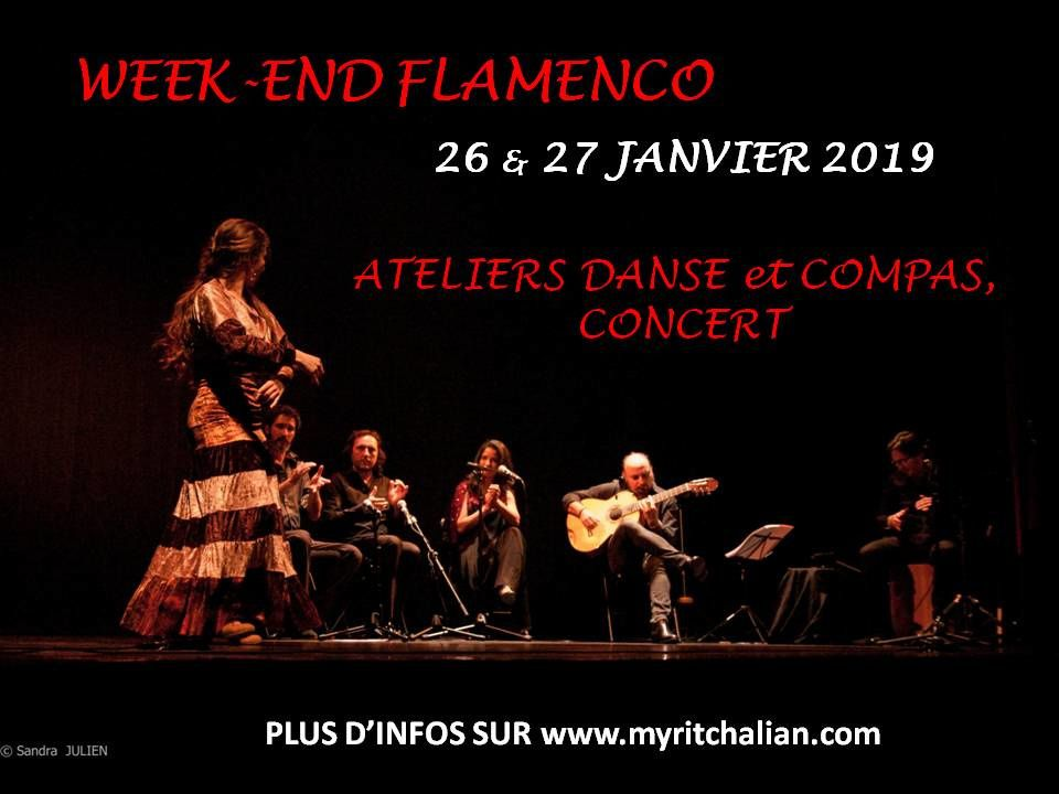 WEEK-END FLAMENCO 26 & 27 JANVIER!!