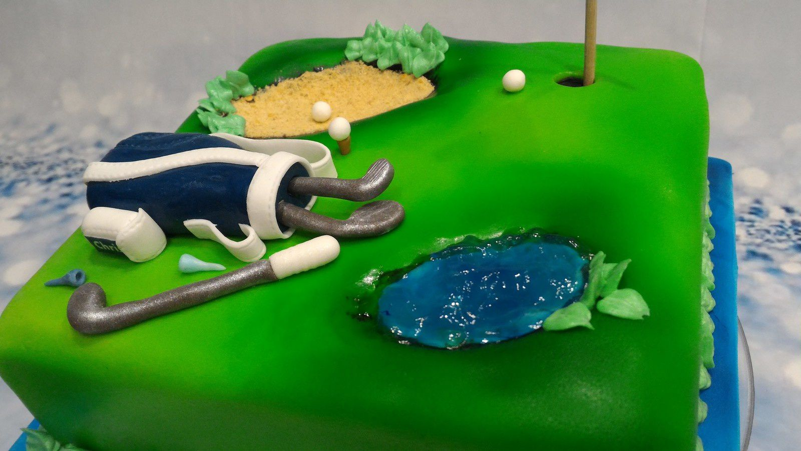 GATEAU GOLF ET WINDOWS