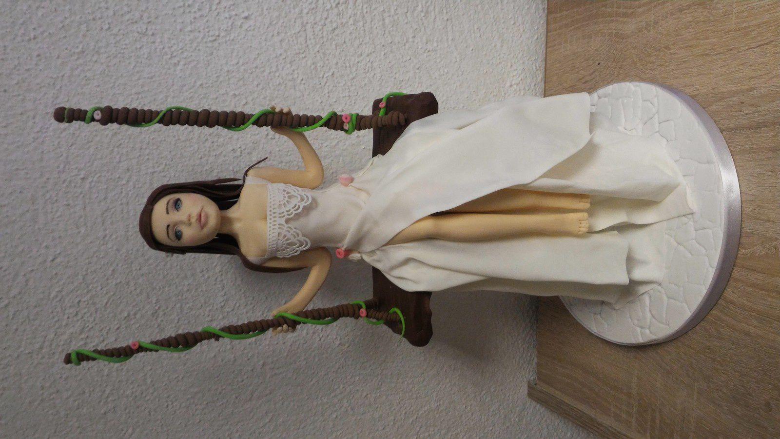 ATELIER MARIEE SUR BALANCOIRE AVEC GEORGIAS CAKES