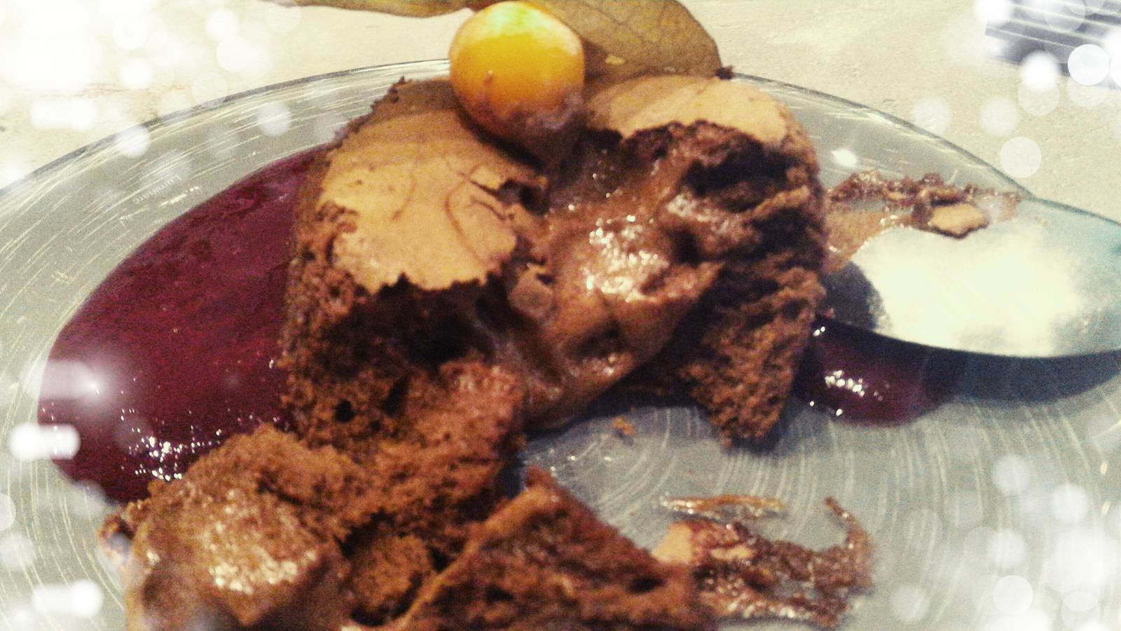 COULANT AU CHOCOLAT - ENCYCLOPEDIE DU CHOCOLAT VALRHONA