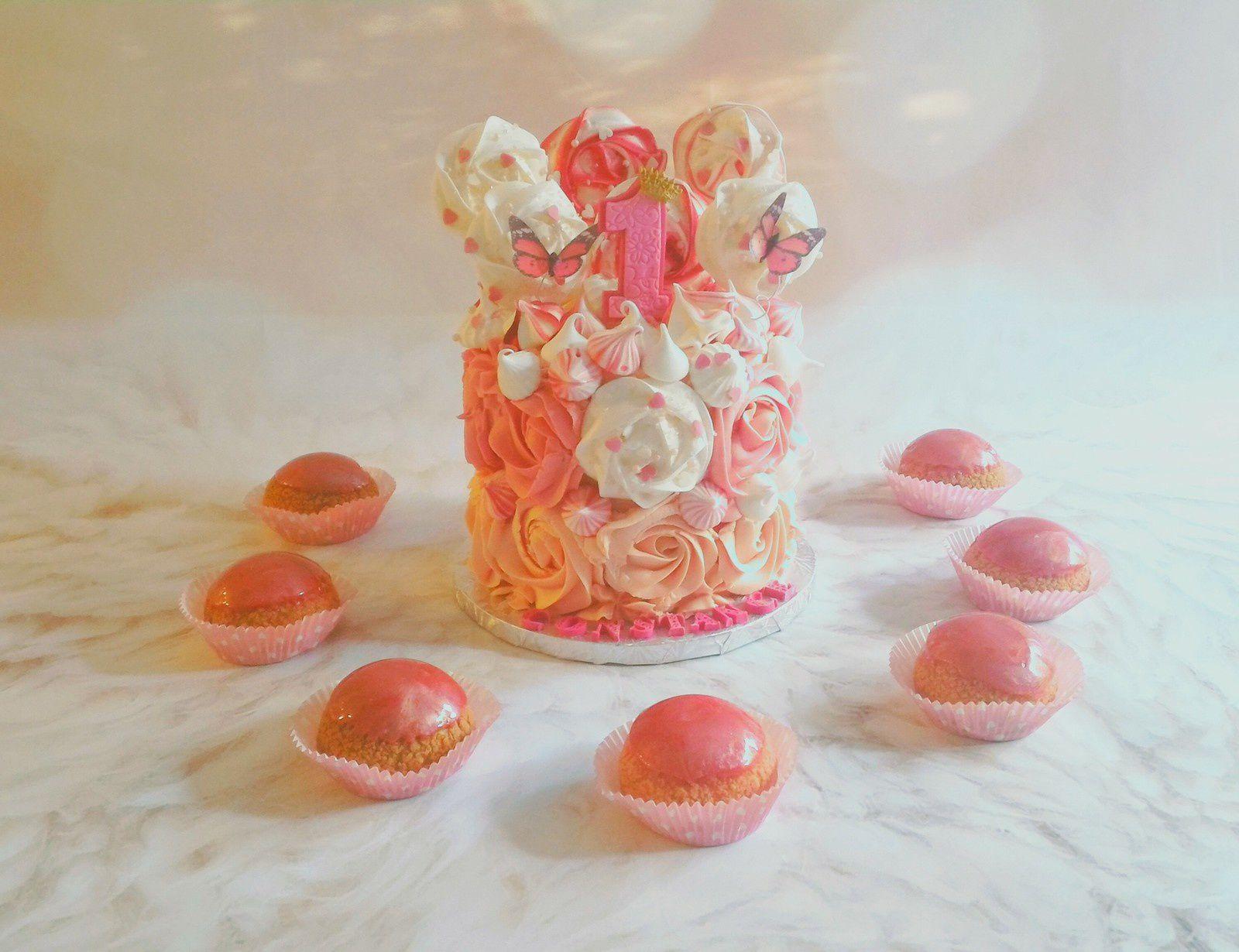 ROSE CAKE DEGRADE
