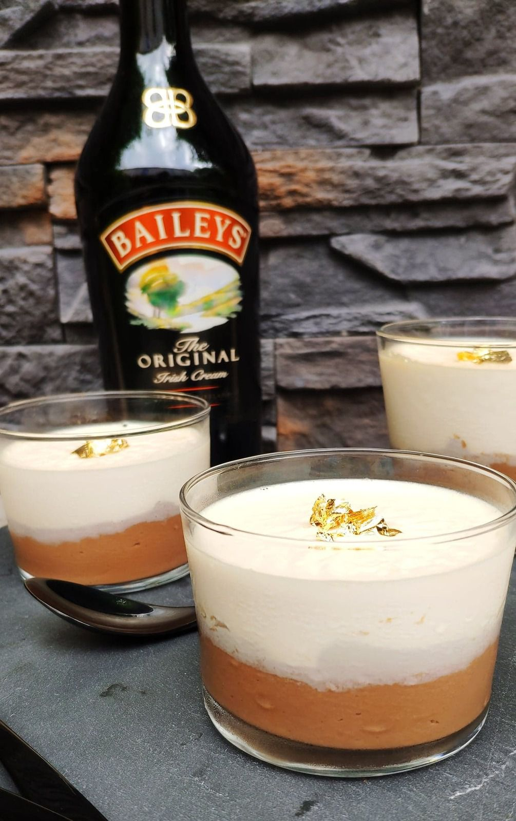 PANNA COTTA AU BAILEY'S