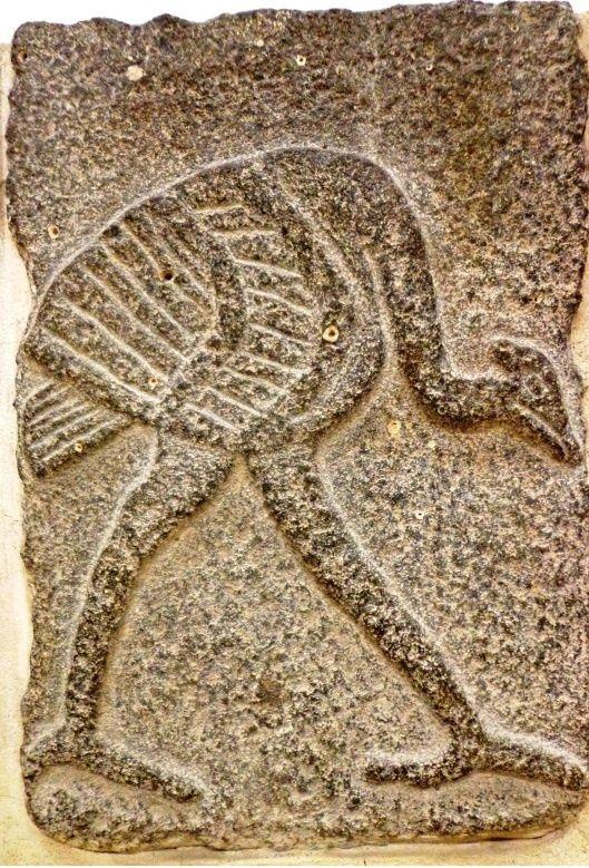 Bas-reliefs en basalte - 9e siècle avant JC