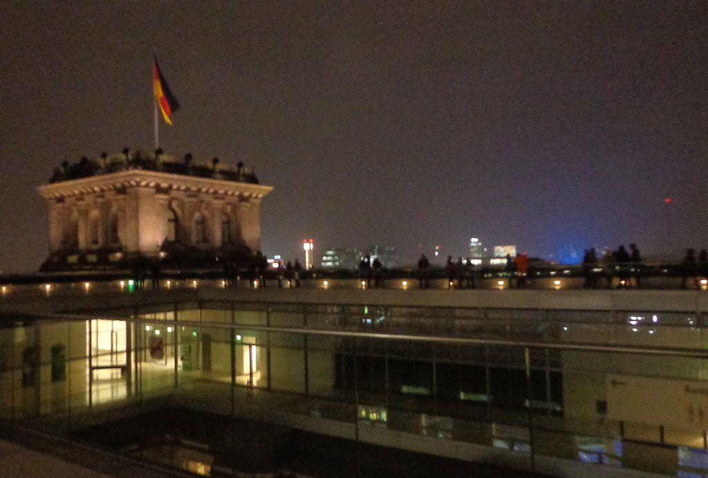 Berlin - Le dôme du Palais du Reichstag