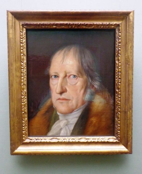 Portrait du philosophe Hegel - Jacob Schlesinger - 1831