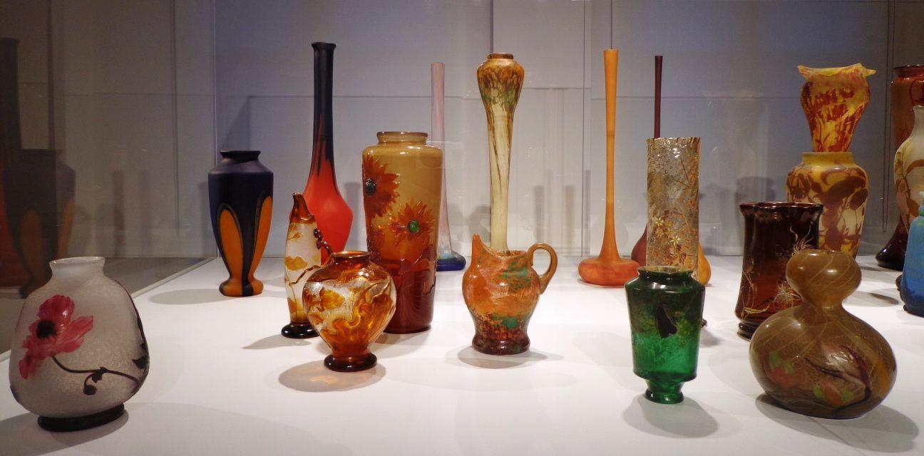 Vases de l'école de Nancy