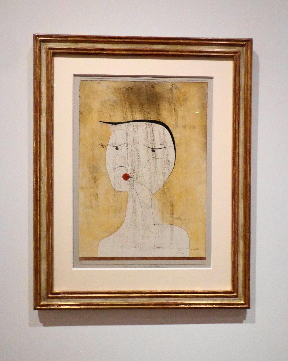 La femme scellée - Paul Klee, 1930