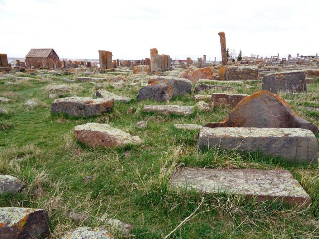 Arménie 2017 - Le cimetière de Noradouz
