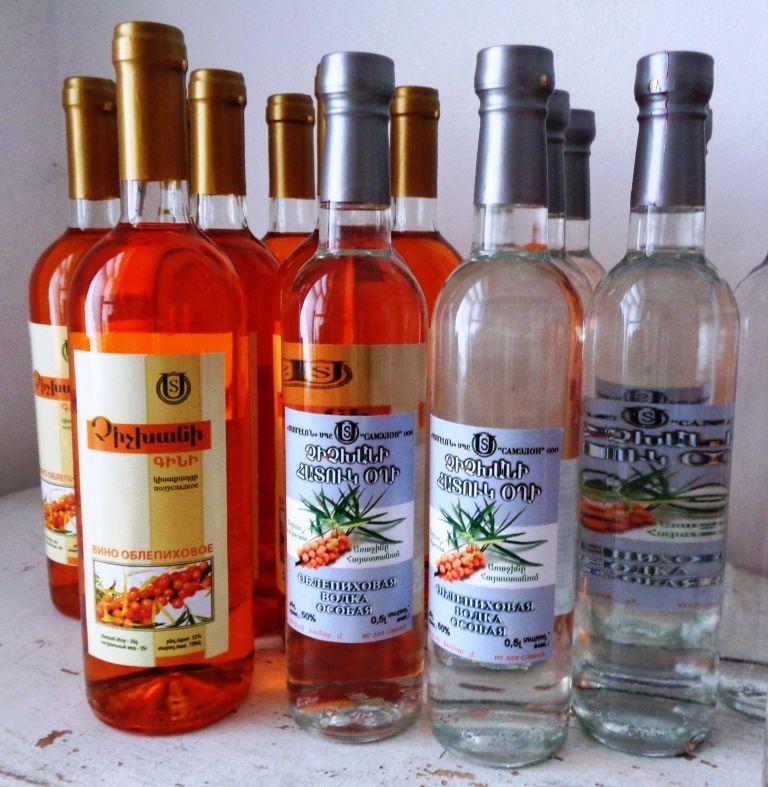 Arménie - Une recette unique : le vin d'argousier de Samvel Madoyan