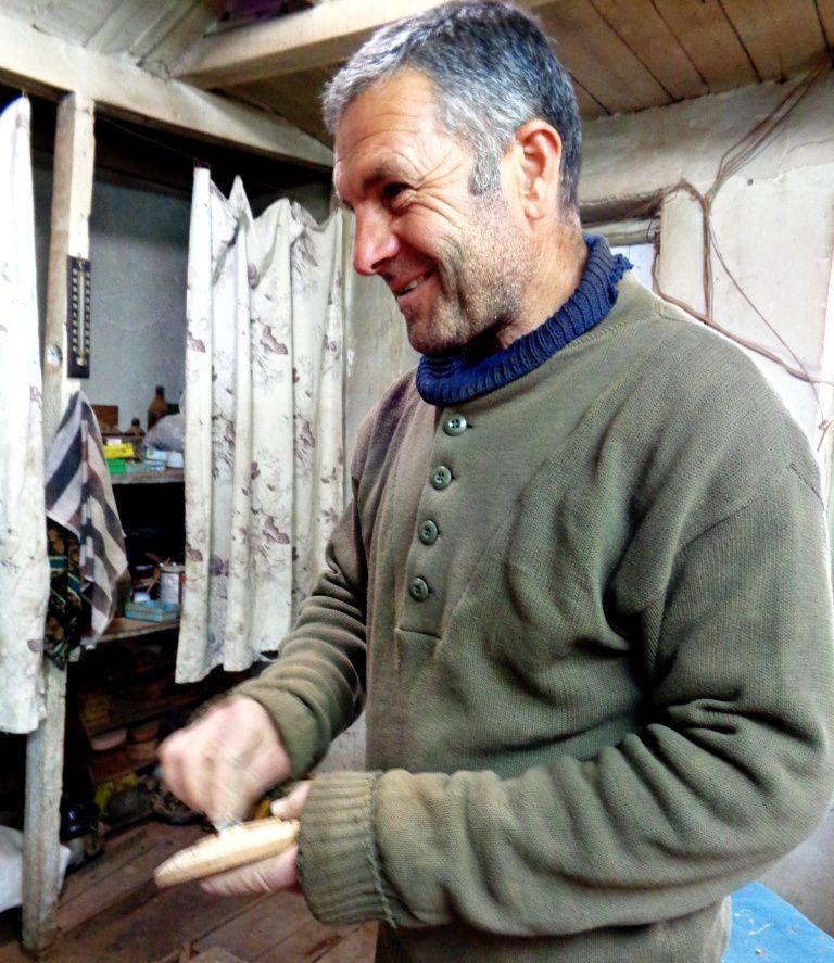 Arménie 2017 - Hayk Nalbandian, tailleur de pierre