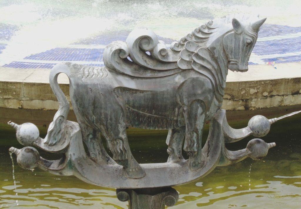 Arménie 2017  - La Fontaine du Zodiaque à Yerevan