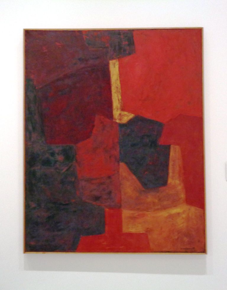 Composition rouge - Serge Poliakoff - 1969