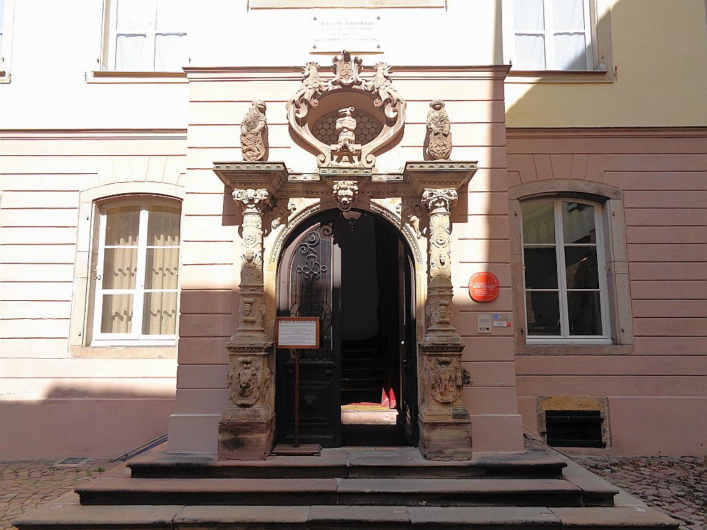 Colmar - Le musée Bartholdi