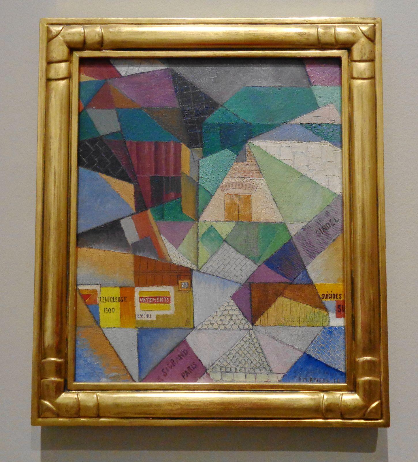 Toits de Paris - Diego Rivera, 1914