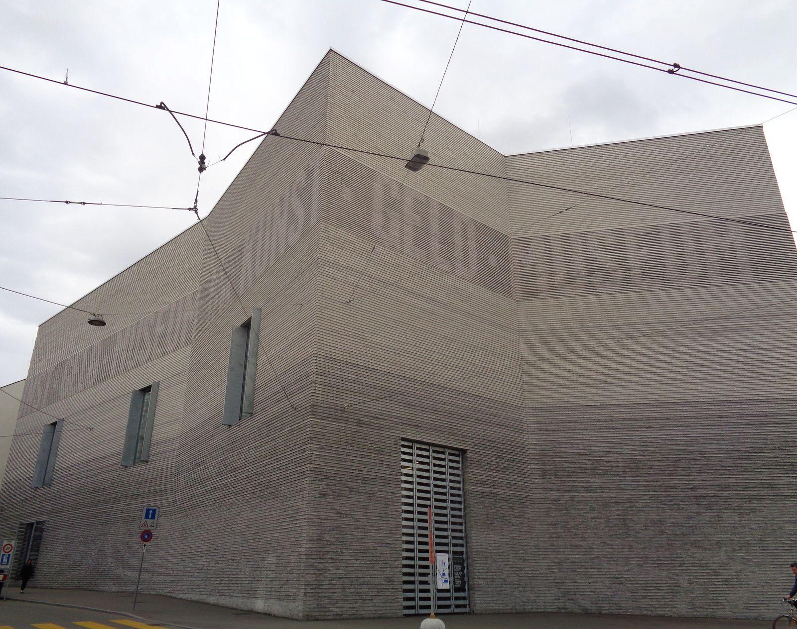 Bâle - 2e jour - Musée des Beaux-Arts, bâtiment Neubau