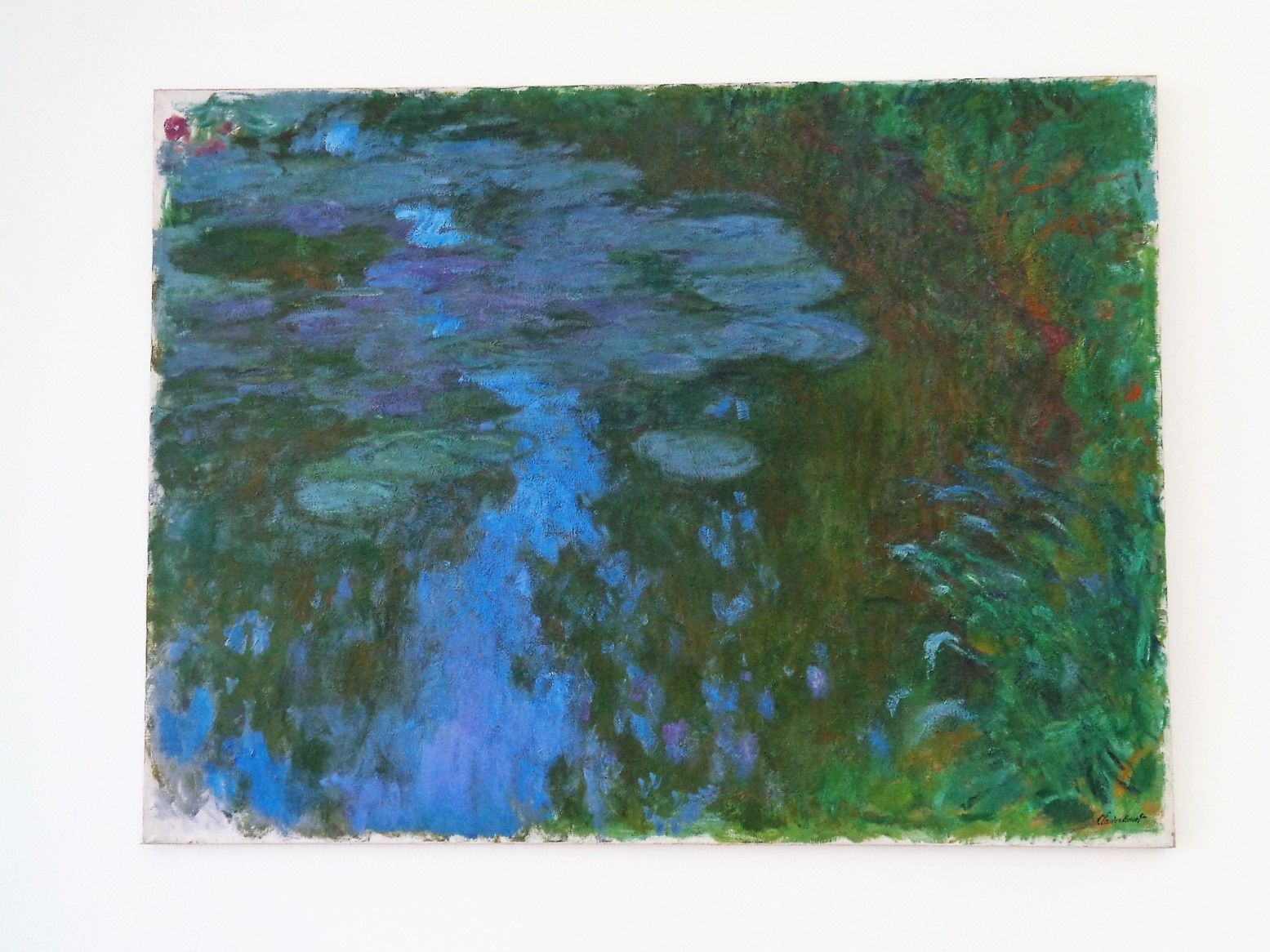 Nymphéas - Claude Monet - 1917