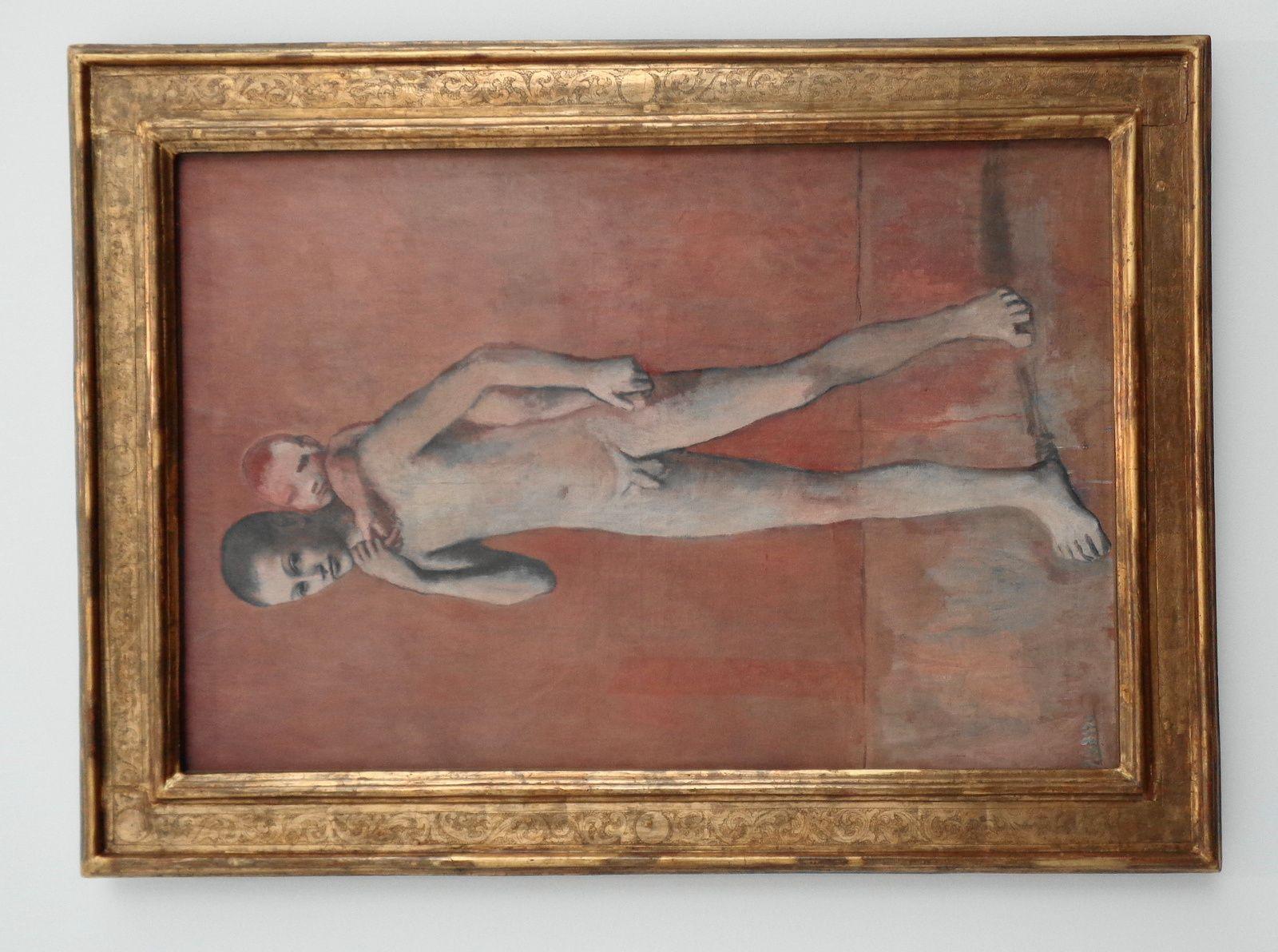 Les deux frères - Pablo Picasso - 1906