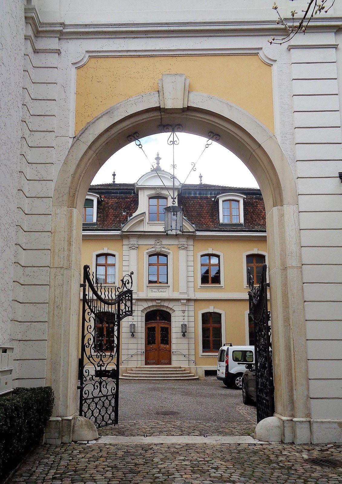 Bâle - 4e jour - Promenade dans Saint-Alban