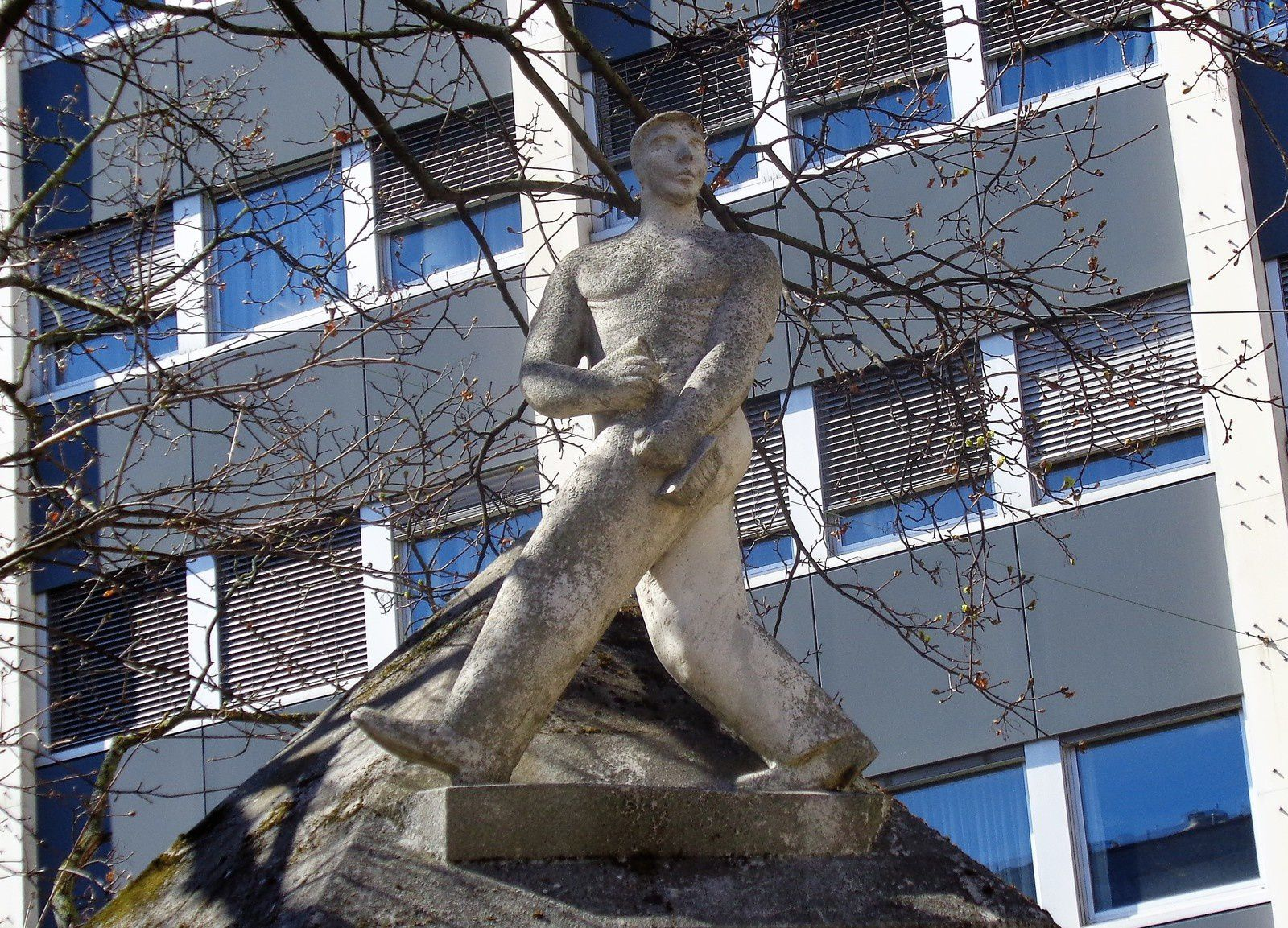 Bâle - 4e jour - Promenade de la Spalentor à Aeschenplatz