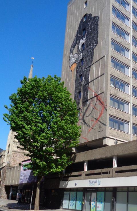 Bristol - Stokes Croft, fresques et graffiti