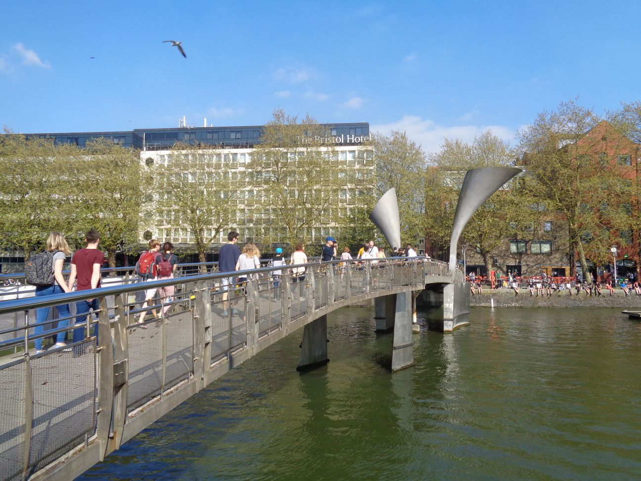 Bristol - Promenade dans Harbourside