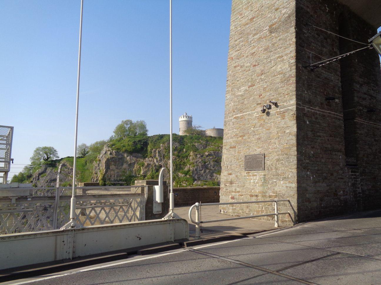 Bristol - Le pont suspendu de Clifton et quelques fresques