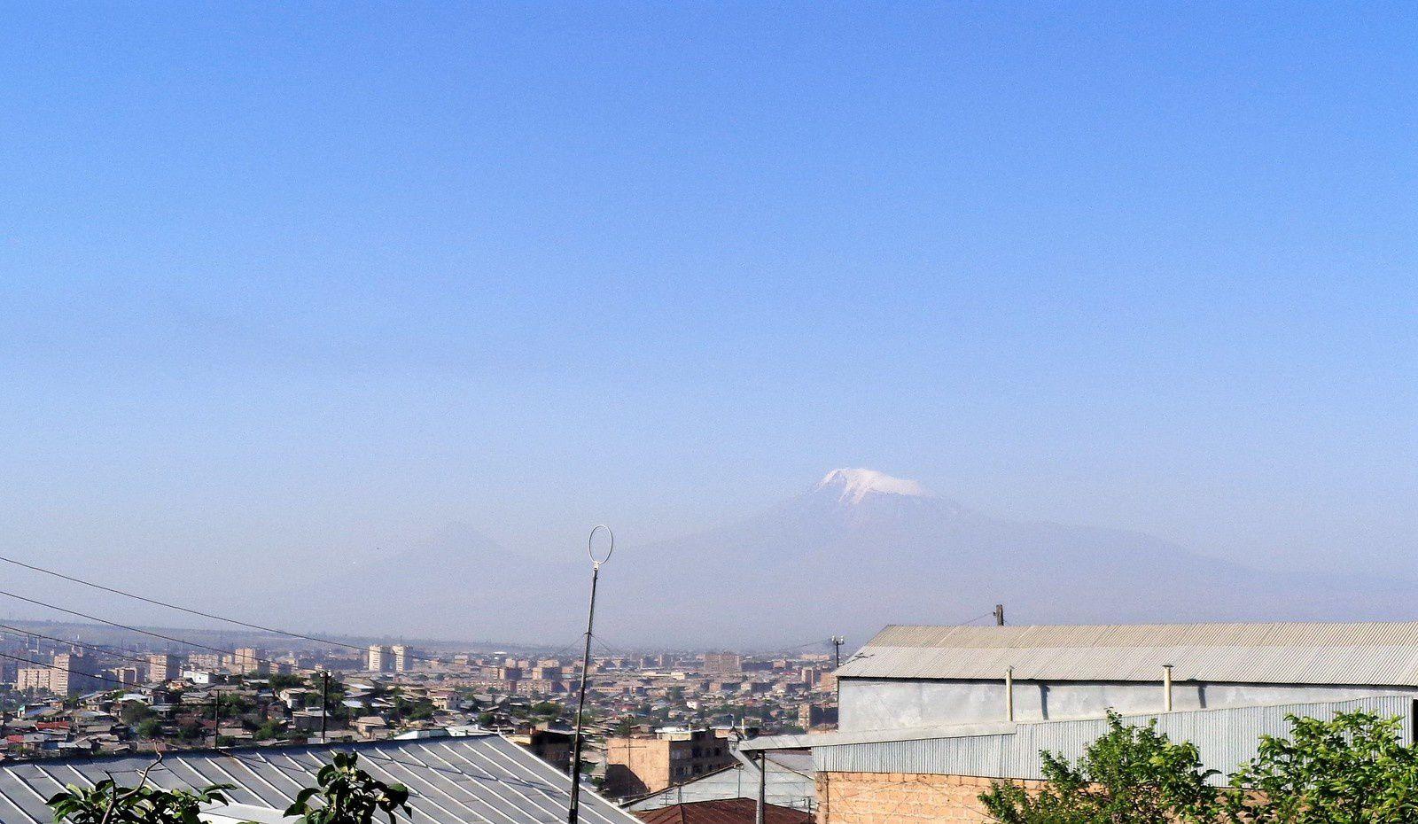 Le mont Ararat, ce matin