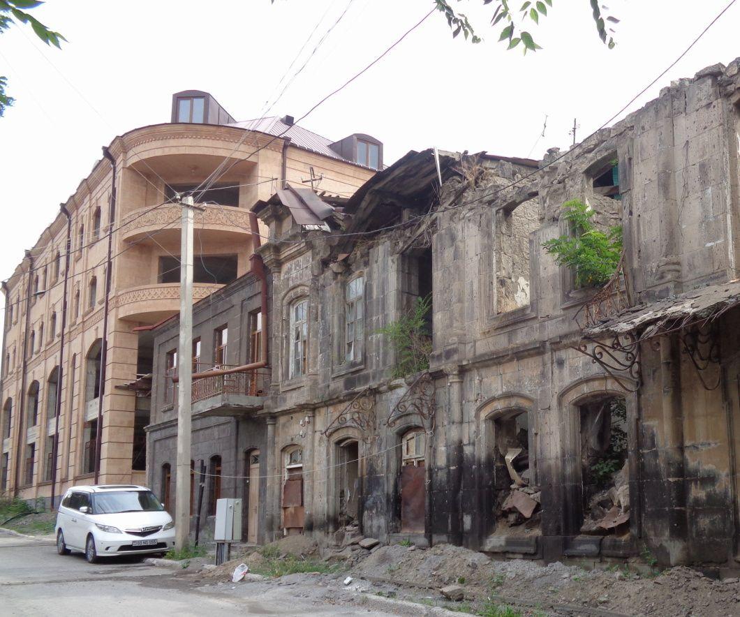 Arménie 2018 - Région d'Aragatsotn : une promenade dans Gyumri