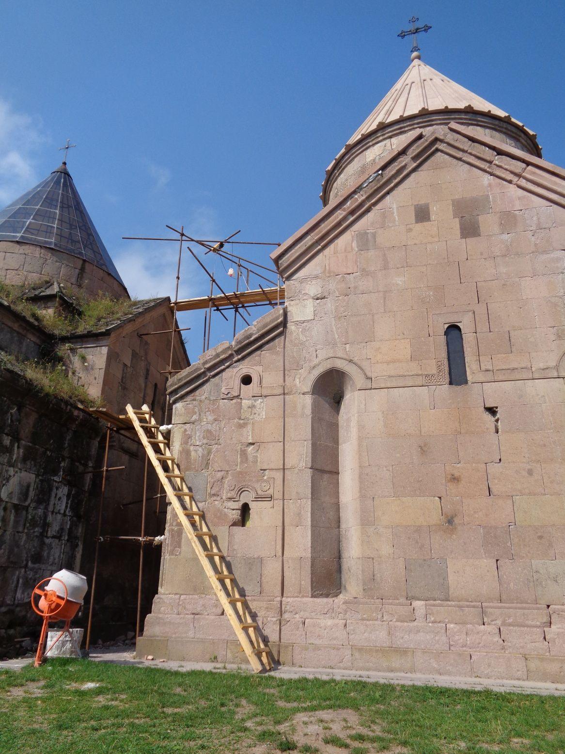 Arménie 2018 - Région du Tavouch :  monastère Goshavank et randonnée